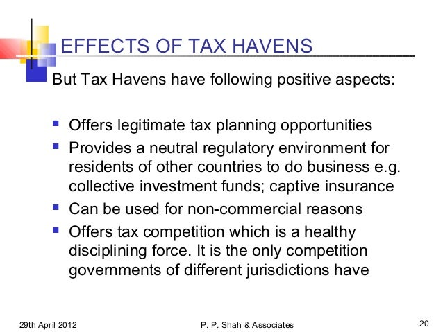 implications of tax avoidance