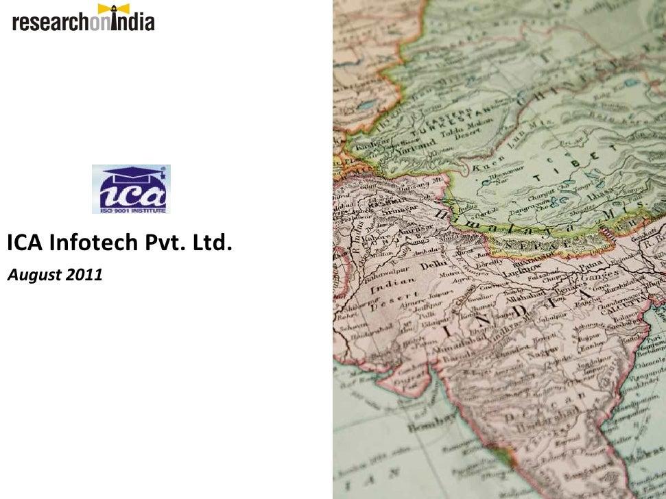 ICA Infotech Pvt. Ltd.August 2011