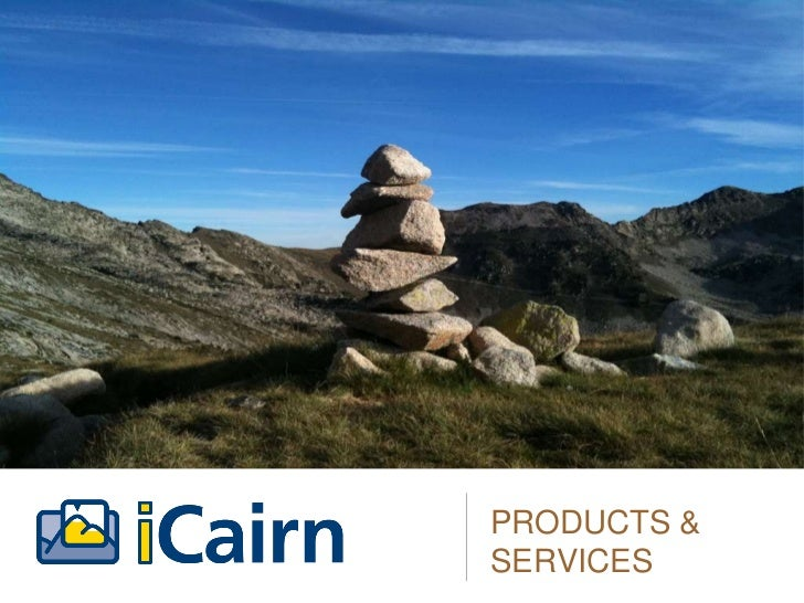 iCairn products and services