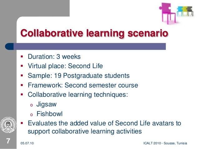 Collaborative Learning Techniques Classroom ~ Supporting collaborative learning processes in cves by