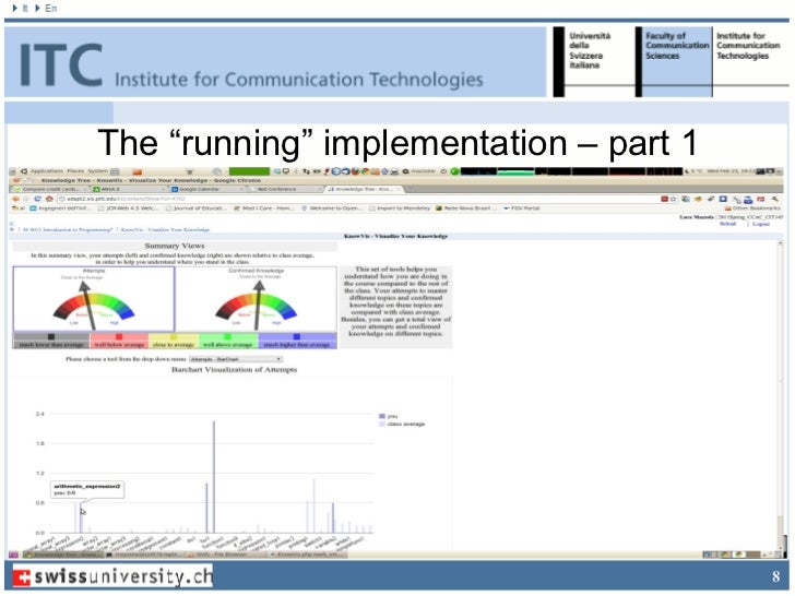 """The """"running"""" implementation – part 1                                        8"""