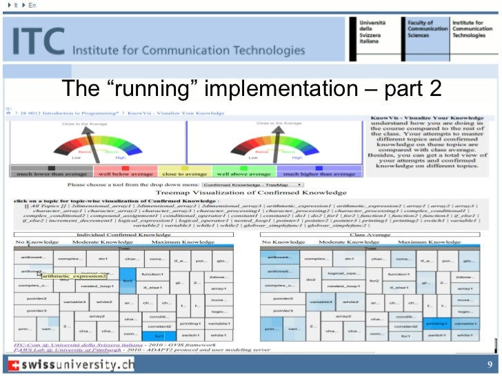"""The """"running"""" implementation – part 2                                        9"""