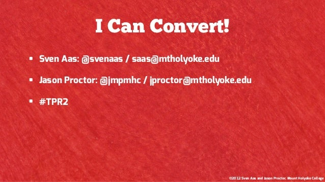 I Can Convert Slide 2