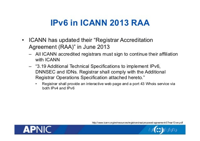 Icann 49 Apnic Ipv6 Deployment