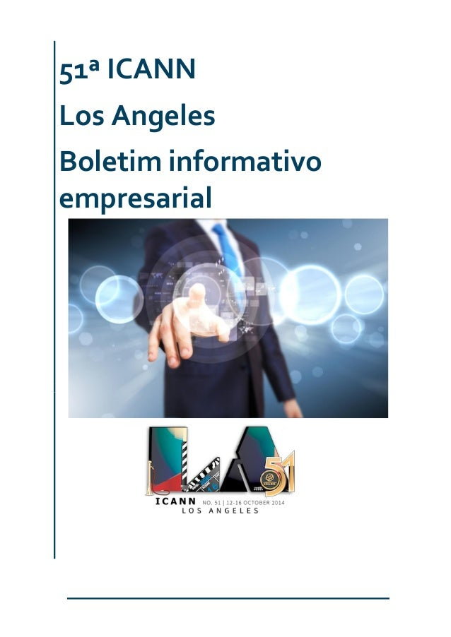 51ª ICANN Los Angeles Boletim informativo empresarial