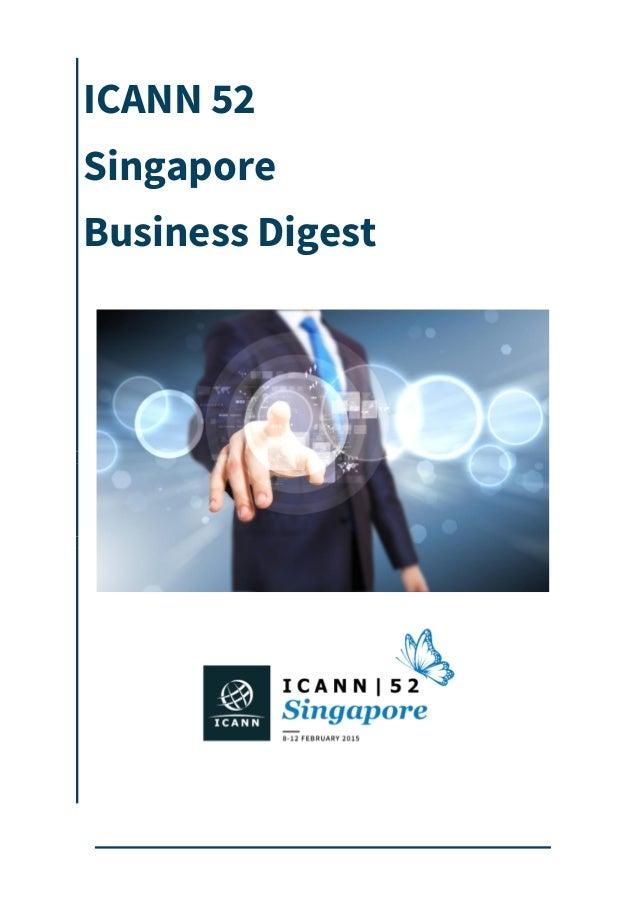 ICANN 52 Singapore Business Digest