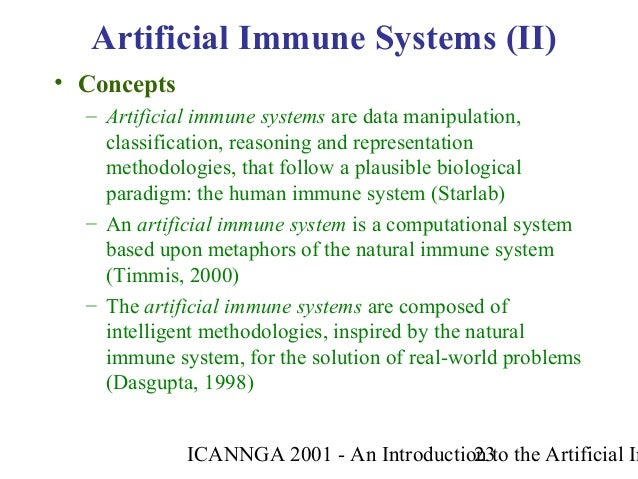 2001 An Introduction To Artificial Immune Systems