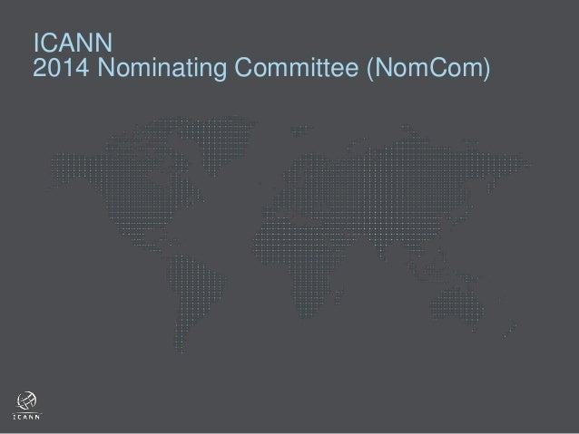 ICANN  2014 Nominating Committee (NomCom)