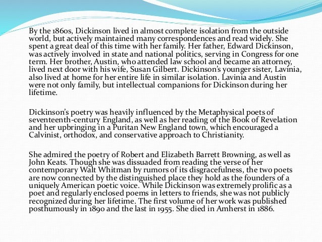 An analysis of the poem i cannot live with you by emily dickinson