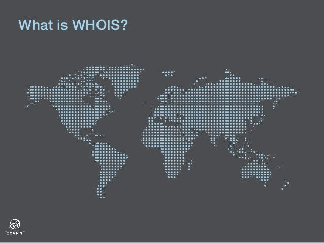 What is WHOIS?!