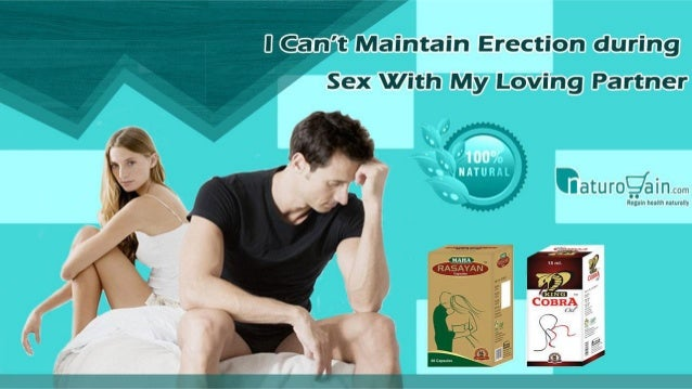 Maintaining erection during sex