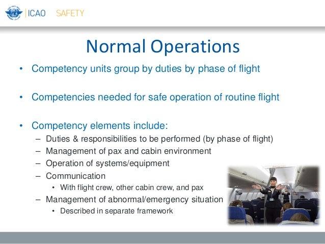 cabin crew duties and responsibilities ppt