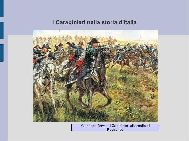 I Carabinieri nella storia d'Italia Giuseppe Rava – I Carabinieri all'assalto di Pastrengo