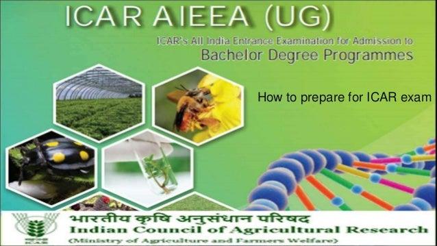 How to prepare for ICAR exam