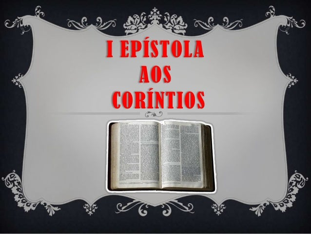 I EPÍSTOLA AOS CORÍNTIOS