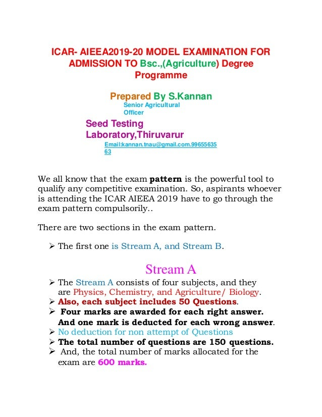 agriculture admission 2019