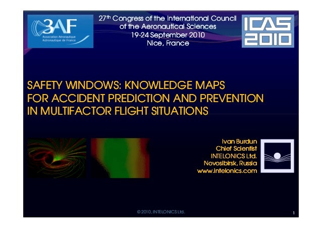 27th Congress of the International Council                 of the Aeronautical Sciences                     19-24 Septembe...