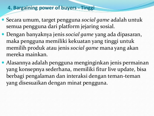 bargaining power of buyers video game console Executive summery any major invention has a humble beginning and the video game industry is no exception  1 bargaining power of buyers the demographic segment of .