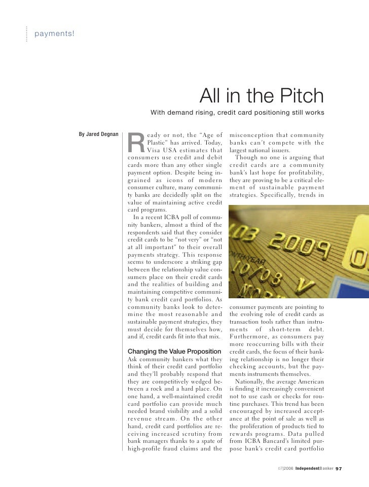 payments!                                                                All in the Pitch                                 ...