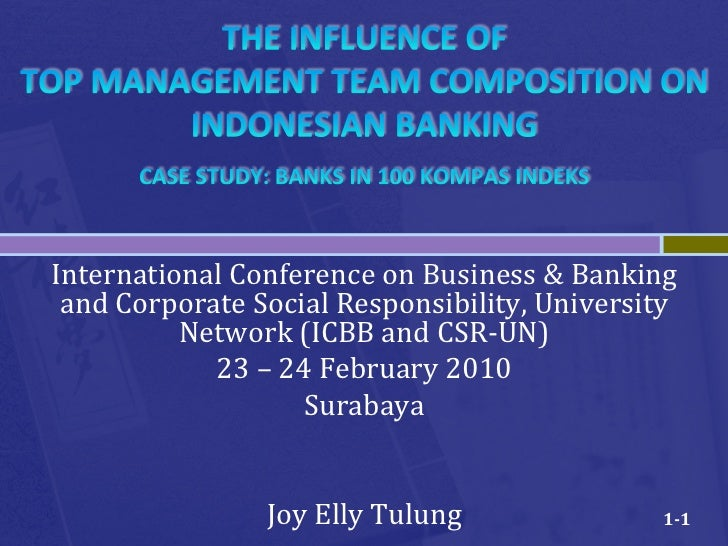 International	  Conference	  on	  Business	  &	  Banking	   and	  Corporate	  Social	  Responsibility,	  University	      ...