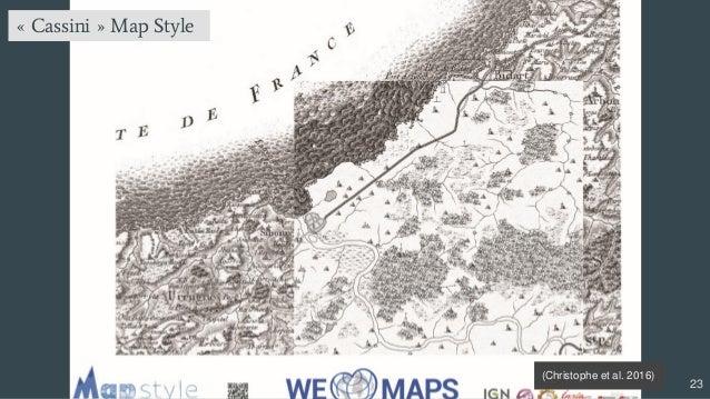 23 « Cassini » Map Style (Christophe et al. 2016)