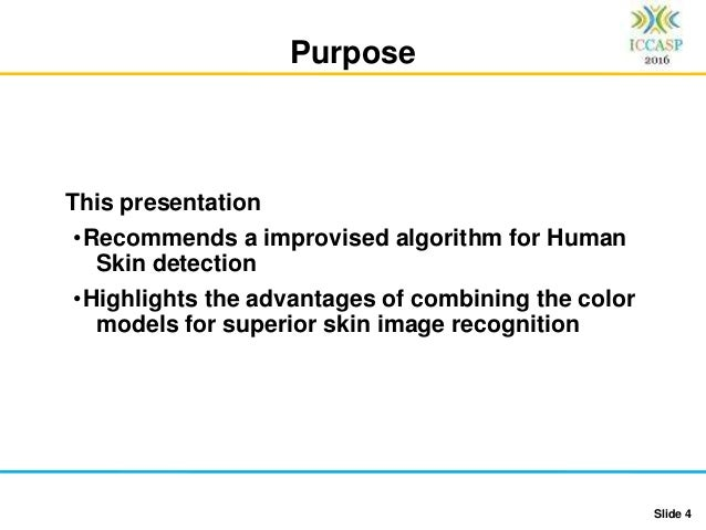 ICCASP Human Skin Detection using RGB, HSV and YCbCr Color