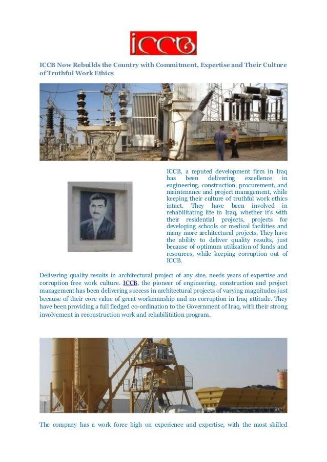 Iraqi Consultants and Construction Bureau (ICCB)