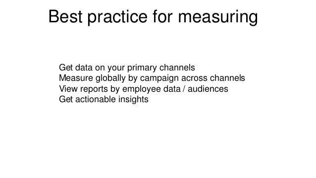 Keys to channel effectiveness Analyze ActCommunicatePlan