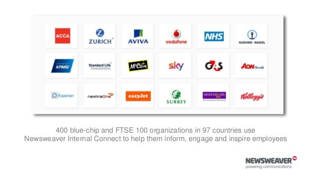 denise cox Lead communications consultant, Newsweaver Twitter: @denisecox Website: www.newsweaver.com/internal-communicati...