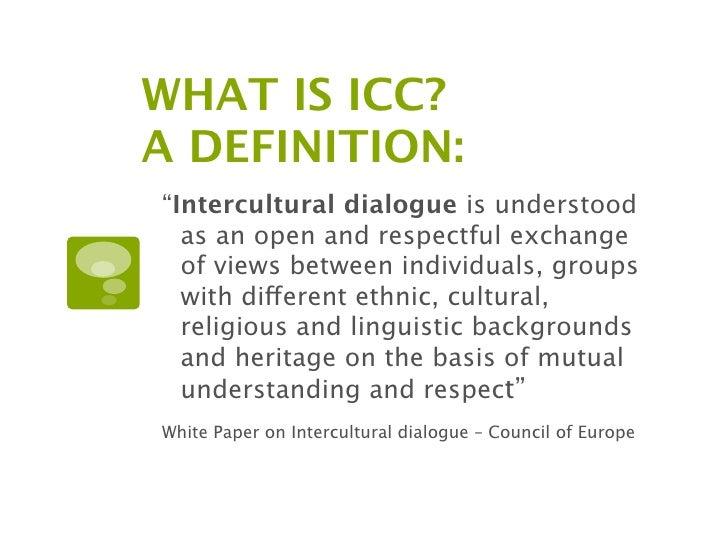 Icc intercultural communication competence