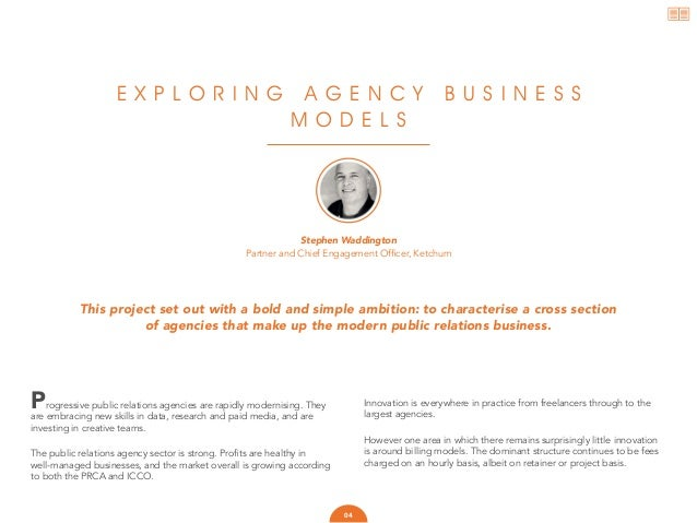 Exploring the public relations agency business