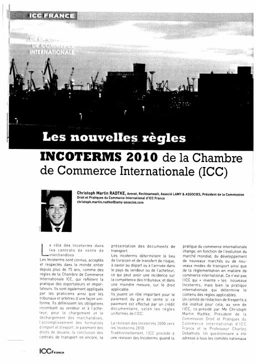 Icc Revue Echanges Sept 2010 Incoterms Complet Slide 3