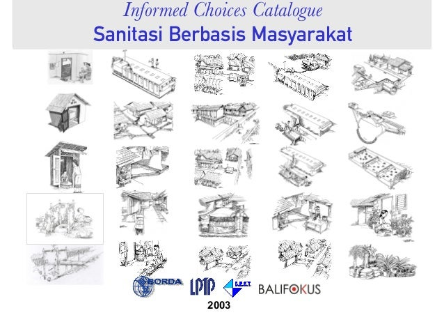 Informed Choices Catalogue Sanitasi Berbasis Masyarakat 2003