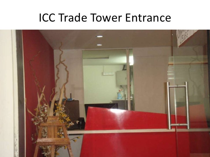 ICC Trade Tower Entrance <br />