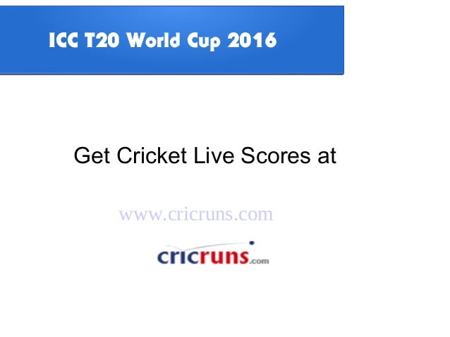 Icc twenty20 world cup 2016 tournament