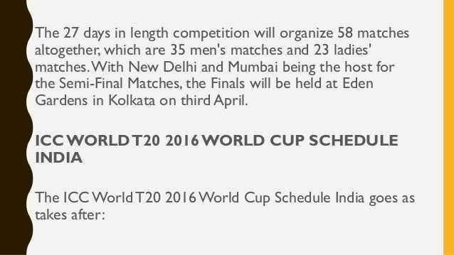 world t20 schedule 2016 pdf