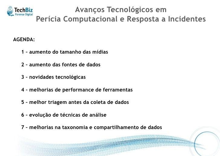 """Resposta a Incidentes e Forense Computacional – Abordagem Híbrida     """"Computer Forensics: Results of Live Response Inquir..."""