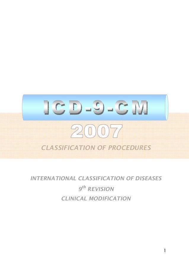 Icd 9 Cm 2007