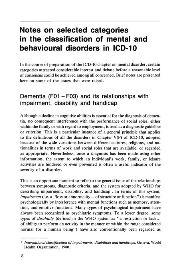 justification in classifying all disease as spiritual or mental Dsm-5 diagnostic classification  note for all mental disorders due to another medical condition:  vascular disease, traumatic brain injury, .
