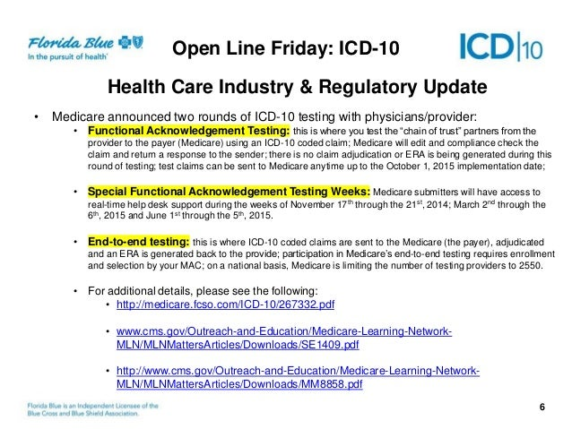 ICD-10: A Payer Update with Aetna & United Health Group