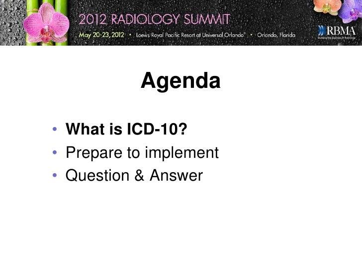 Icd10 Presentation