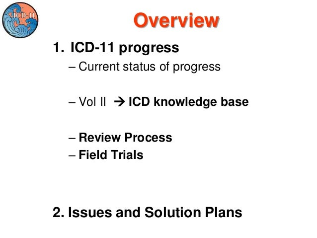 ICD Revision: Quality Safety Meeting 2013 September 9-10