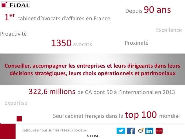 1er cabinet d'avocats d'affaires en France  1350 avocats  Depuis 90 ans  Conseiller, accompagner les entreprises et leurs ...