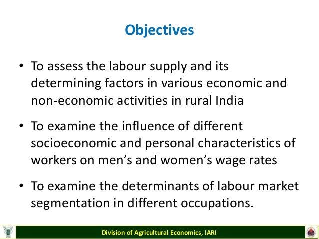 examples of economic and non economic activities