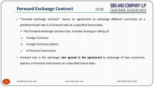 Icds Vi Effects Of Changes In Foreign Exchange Rates