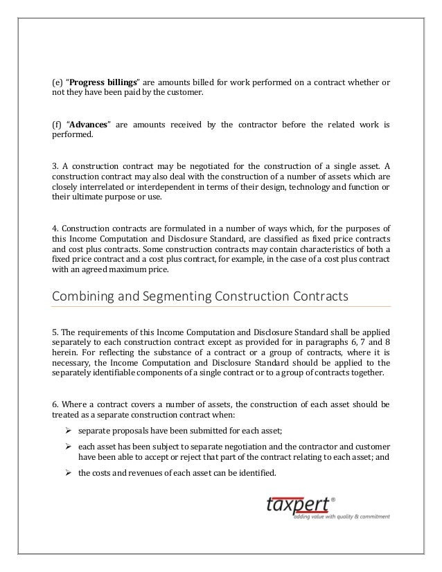 ICDS Construction Contracts - Fixed price construction contract template