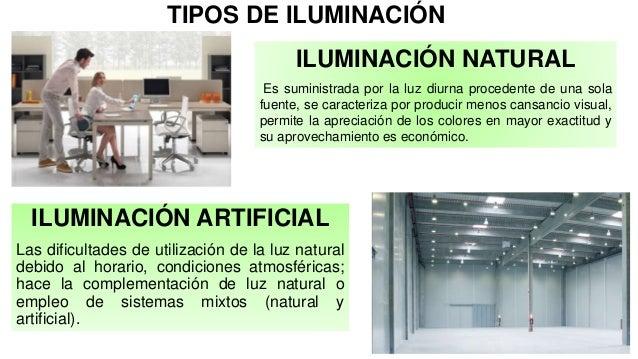 Exposicion riesgo iluminacion sena - Tipos de iluminacion ...