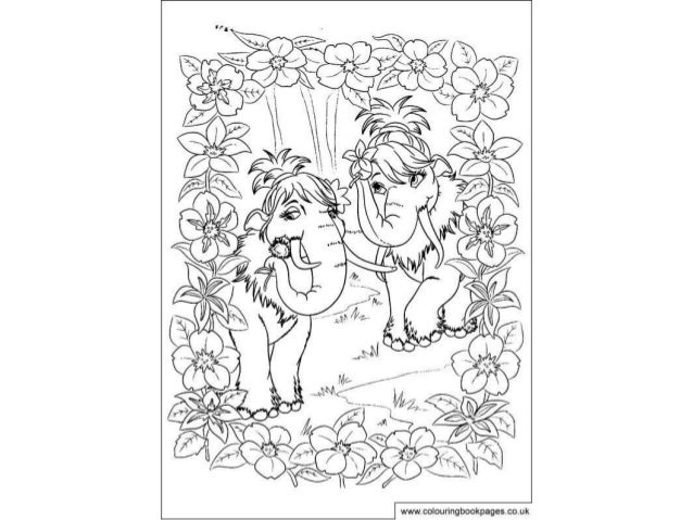 Ice age 4 Colouring Pages and Kids Colouring Activities
