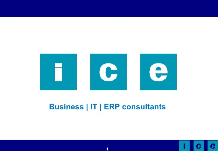 Business | IT | ERP consultants