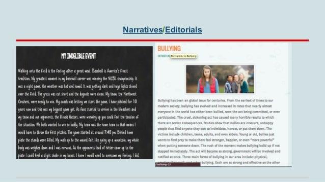 Narratives/Editorials